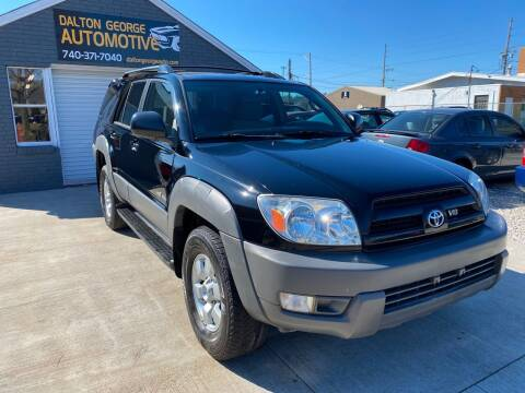 2003 Toyota 4Runner for sale at Dalton George Automotive in Marietta OH