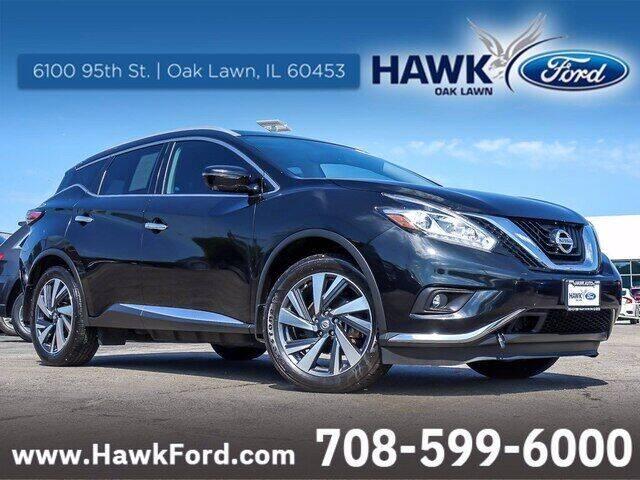 2017 Nissan Murano for sale at Hawk Ford of Oak Lawn in Oak Lawn IL