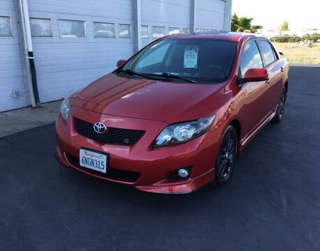 2010 Toyota Corolla for sale at My Three Sons Auto Sales in Sacramento CA