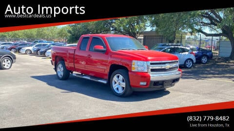 2008 Chevrolet Silverado 1500 for sale at Auto Imports in Houston TX