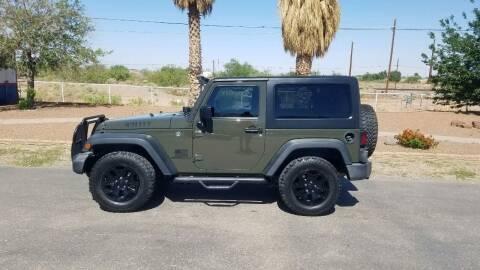 2016 Jeep Wrangler for sale at Ryan Richardson Motor Company in Alamogordo NM