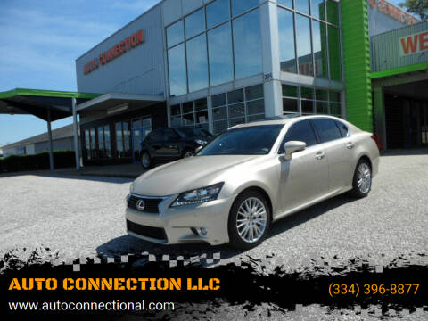 2013 Lexus GS 350 for sale at AUTO CONNECTION LLC in Montgomery AL