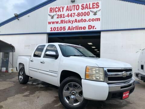2009 Chevrolet Silverado 1500 for sale at Ricky Auto Sales in Houston TX
