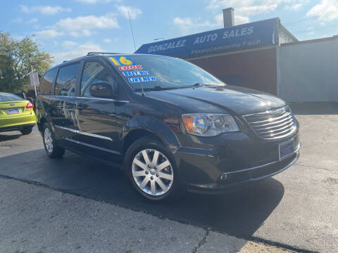 2016 Chrysler Town and Country for sale at Gonzalez Auto Sales in Joliet IL