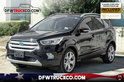2018 Ford Escape for sale at DFWTRUCKCO.COM LLC in Dallas TX