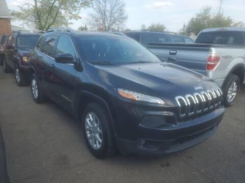 2016 Jeep Cherokee for sale at J & J Used Cars inc in Wayne MI