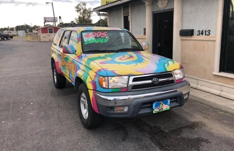 2000 Toyota 4Runner for sale at CSRA Motor Sports in Augusta GA