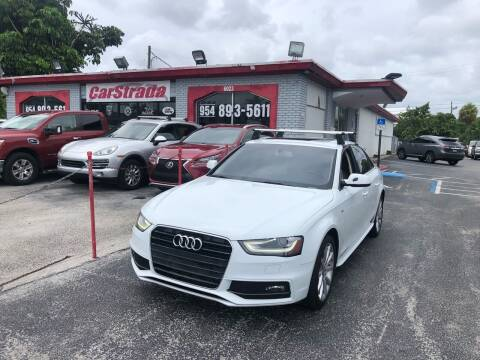 2014 Audi A4 for sale at CARSTRADA in Hollywood FL