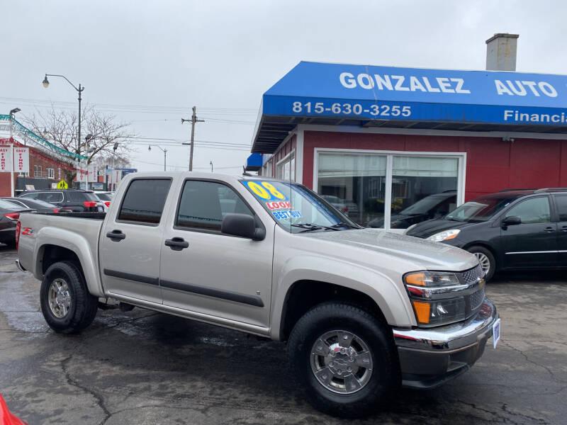 2008 Chevrolet Colorado for sale at Gonzalez Auto Sales in Joliet IL