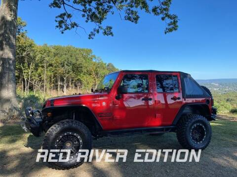 2017 Jeep Wrangler Unlimited for sale at RED RIVER DODGE - Red River of Malvern in Malvern AR