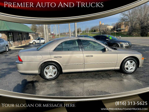 2000 Lincoln LS for sale at Premier Auto And Trucks in Independence MO