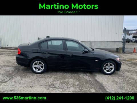 2008 BMW 3 Series for sale at Martino Motors in Pittsburgh PA