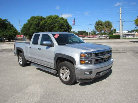 2014 Chevrolet Silverado 1500 for sale at United Auto Center in Davie FL