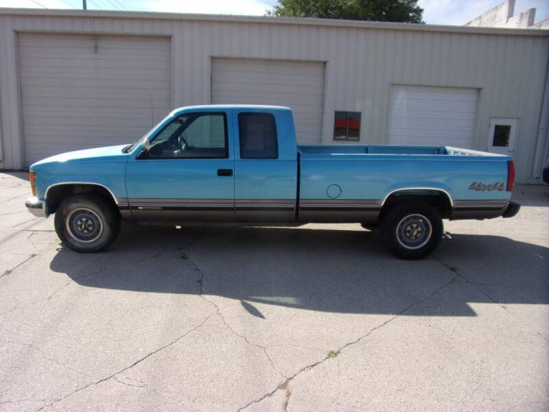1993 Chevrolet C/K 2500 Series for sale at DJ Motor Company in Wisner NE