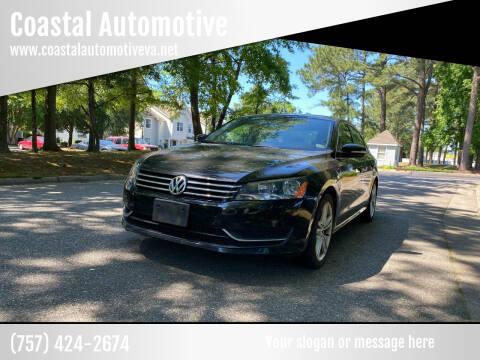 2013 Volkswagen Passat for sale at Coastal Automotive in Virginia Beach VA