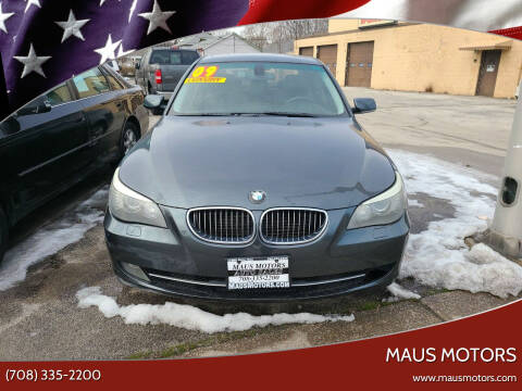 2009 BMW 5 Series for sale at MAUS MOTORS in Hazel Crest IL