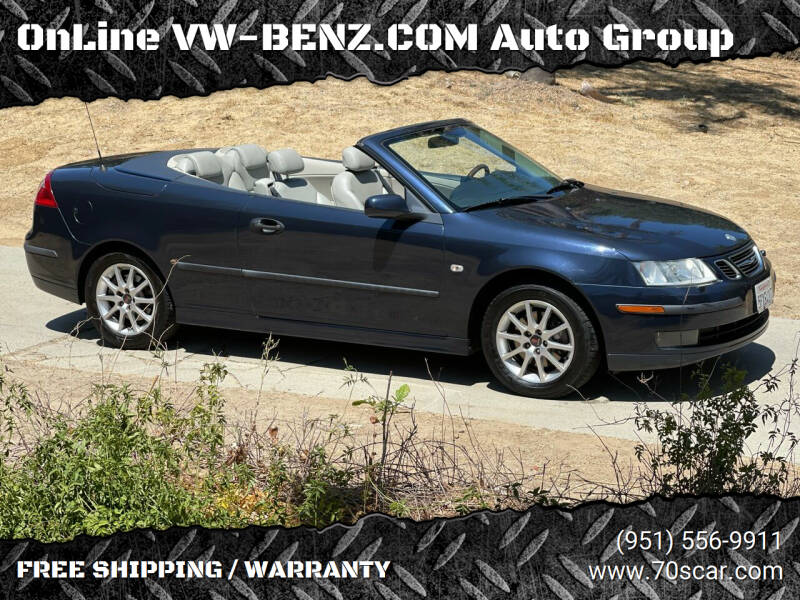 2004 Saab 9-3 for sale at OnLine VW-BENZ.COM Auto Group in Riverside CA