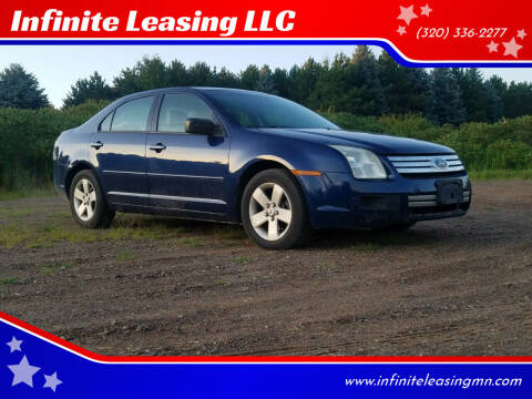 2007 Ford Fusion for sale at Infinite Leasing LLC in Lastrup MN
