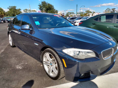 2013 BMW 5 Series for sale at Empire Automotive Group Inc. in Orlando FL