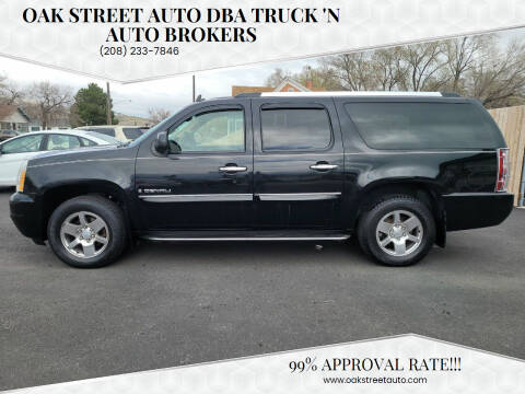 2007 GMC Yukon XL for sale at Oak Street Auto DBA Truck 'N Auto Brokers in Pocatello ID