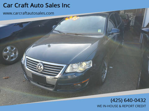 2006 Volkswagen Passat for sale at Car Craft Auto Sales Inc in Lynnwood WA