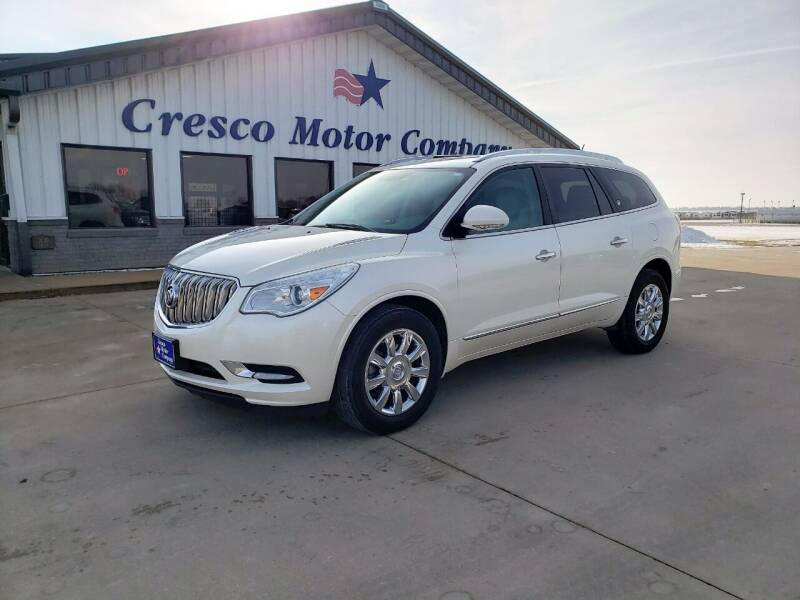2013 Buick Enclave for sale at Cresco Motor Company in Cresco IA