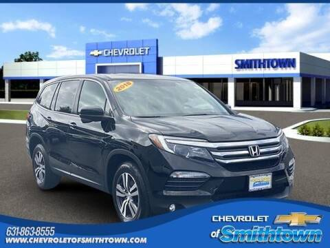 2018 Honda Pilot for sale at CHEVROLET OF SMITHTOWN in Saint James NY