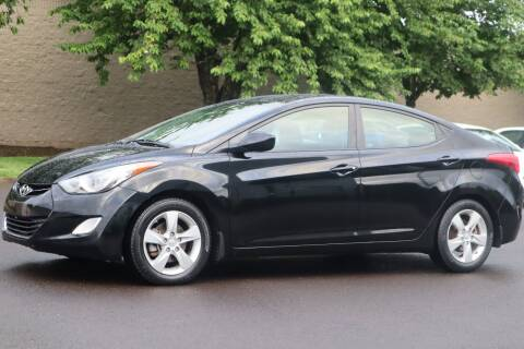2013 Hyundai Elantra for sale at Beaverton Auto Wholesale LLC in Hillsboro OR