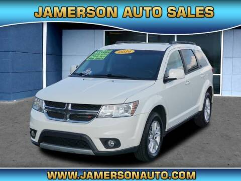 2014 Dodge Journey for sale at Jamerson Auto Sales in Anderson IN