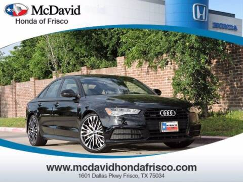 2017 Audi A6 for sale at DAVID McDAVID HONDA OF IRVING in Irving TX