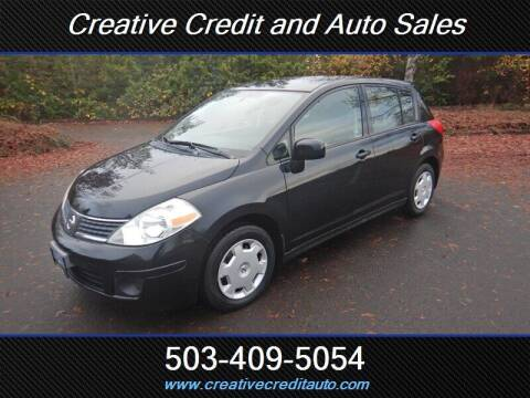 2008 Nissan Versa for sale at Creative Credit & Auto Sales in Salem OR