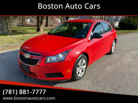 2014 Chevrolet Cruze for sale at Boston Auto Cars in Dedham MA