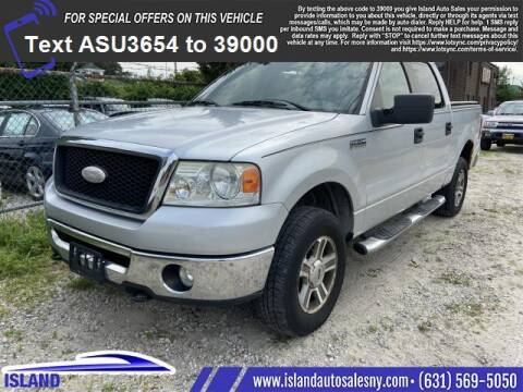 2007 Ford F-150 for sale at Island Auto Sales in East Patchogue NY