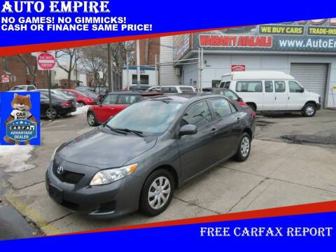 2010 Toyota Corolla for sale at Auto Empire in Brooklyn NY