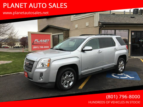 2013 GMC Terrain for sale at PLANET AUTO SALES in Lindon UT