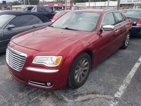 2013 Chrysler 300 for sale at Castle Used Cars in Jacksonville FL