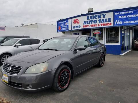 2006 Nissan Altima for sale at Lucky Auto Sale in Hayward CA