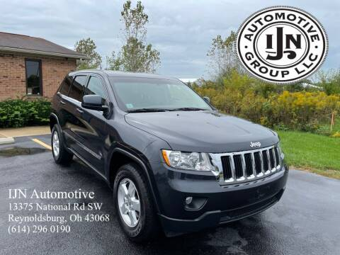2012 Jeep Grand Cherokee for sale at IJN Automotive Group LLC in Reynoldsburg OH