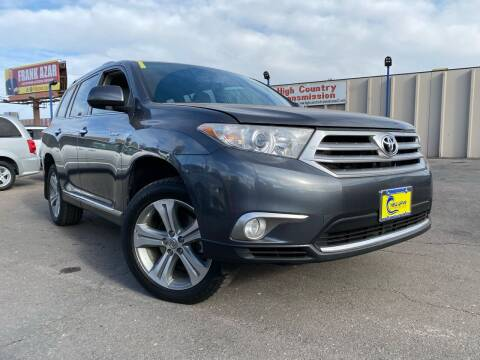 2011 Toyota Highlander for sale at New Wave Auto Brokers & Sales in Denver CO