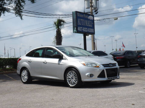 2012 Ford Focus for sale at Winter Park Auto Mall in Orlando FL
