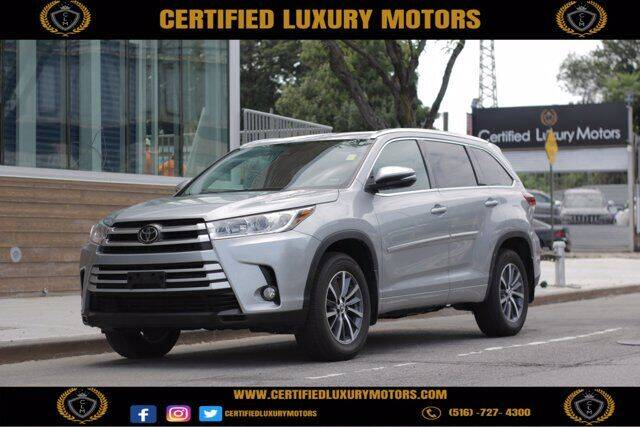 2018 Toyota Highlander for sale in Valley Stream, NY