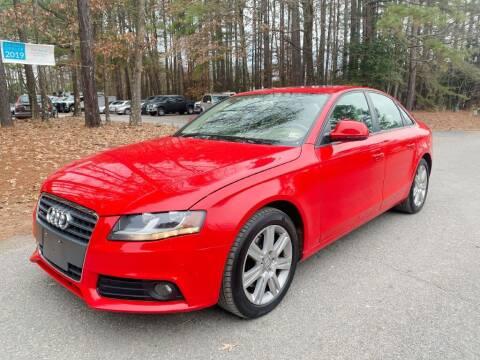 2009 Audi A4 for sale at H&C Auto in Oilville VA