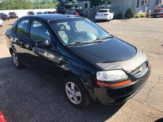 2005 Chevrolet Aveo for sale at WELLER BUDGET LOT in Grand Rapids MI