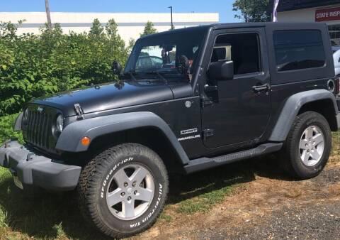 2010 Jeep Wrangler for sale at Postorino Auto Sales in Dayton NJ