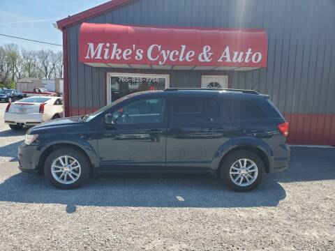2014 Dodge Journey for sale at MIKE'S CYCLE & AUTO in Connersville IN