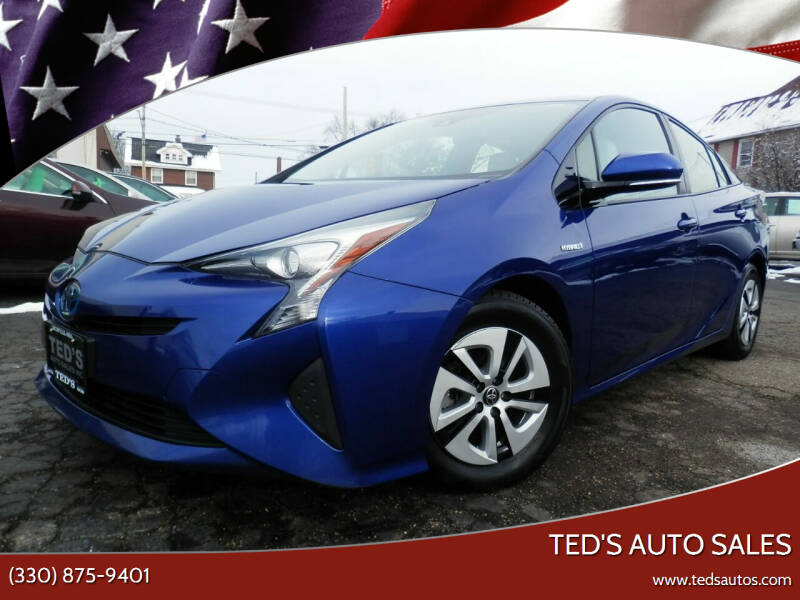 2016 Toyota Prius for sale at Ted's Auto Sales in Louisville OH