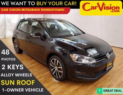 2017 Volkswagen Golf for sale at Car Vision Mitsubishi Norristown in Trooper PA