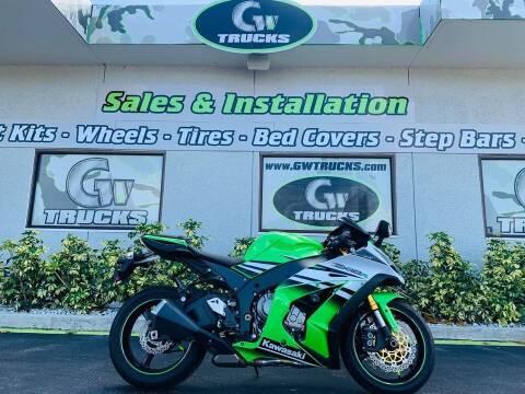 2015 Kawasaki Ninja ZX10r 30th ANN for sale at Greenway Auto Sales in Jacksonville FL