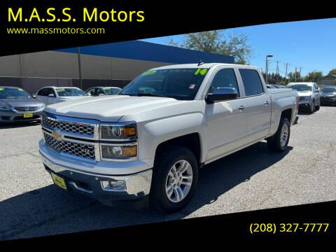 2014 Chevrolet Silverado 1500 for sale at M.A.S.S. Motors - MASS MOTORS in Boise ID