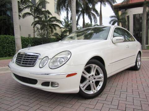 2006 Mercedes-Benz E-Class for sale at FLORIDACARSTOGO in West Palm Beach FL